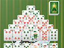 Pyramid Christmas Solitaire